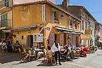 Frankreich, Provence-Alpes-Côte d'Azur, Saint-Tropez: Restaurant Le Schpountz in der Altstadt   France, Provence-Alpes-Côte d'Azur, Saint-Tropez: restaurant Le Schpountz in old town