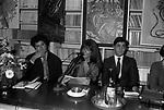 """PRESENTAZIONE LIBRO """"DIVERSE GIOVINEZZE"""" DI BIAGIO ARIXI ROMA 1982"""