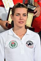 Charlotte Casiraghi, la fille de la Princesse Caroline de Hanovre, durant le Longines proAm Cup Monaco dans le cadre du Jumping International de Monte Carlo 2016 le 24 juin 2016.