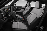 Front seat view of a 2018 Mini Countryman Oakwood 5 Door Hatchback front seat car photos
