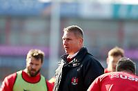 Photo: Richard Lane/Richard Lane Photography. Gloucester Rugby v Wasps. Aviva Premiership. 24/02/2018. Gloucester Head Coach, Johan Ackermann.