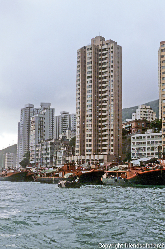 Hong Kong: High-rise housing. Photo '82.