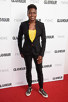 Nicola Adams<br /> arrives for the Glamour Women of the Year Awards 2016, Berkley Square, London.<br /> <br /> <br /> ©Ash Knotek  D3130  07/06/2016
