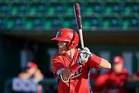 Brandon Marsh (36) of the Orem Owlz bats during the game against the Ogden Raptors at Lindquist Field on September 10, 2017 in Ogden, Utah. Ogden defeated Orem 9-4. (Stephen Smith/Four Seam Images)