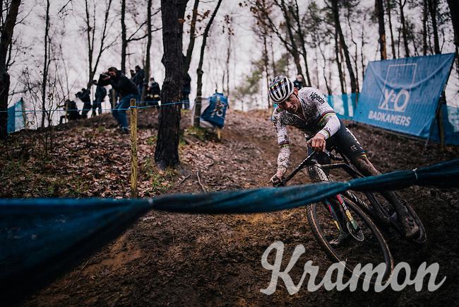 CX world champion Mathieu Van der Poel (NED/Alpecin-Fenix)<br /> <br /> Men's Race at the X2O Herentals Cross 2020 (BEL)<br /> <br /> ©kramon