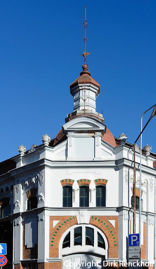 Markthalle in Liepaja, Lettland, Europa