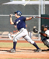Eric Fryer / Milwaukee Brewers 2008 Instructional League..Photo by:  Bill Mitchell/Four Seam Images
