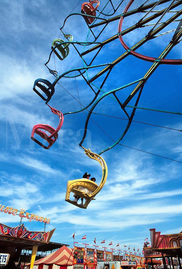 Ferris wheel at the state fair