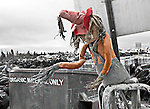 Scarecrow at the Yellowknife city dump