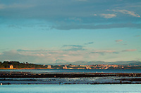 The Ochil Hills from Cramond Harbour, Lothian