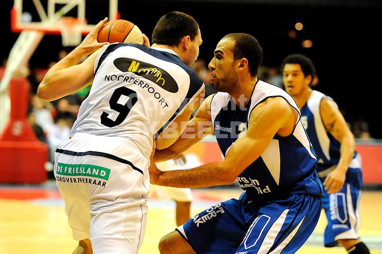 basketbal capitals - zz leiden seizoen 2008-2009  05-02-2009     daniel novak.fotograaf jan kanning