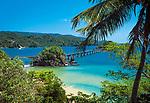 Dominikanische Republik, Samana: Bruecke zur Insel Linares | Dominican Republic, Samana: bridge to Linares Island