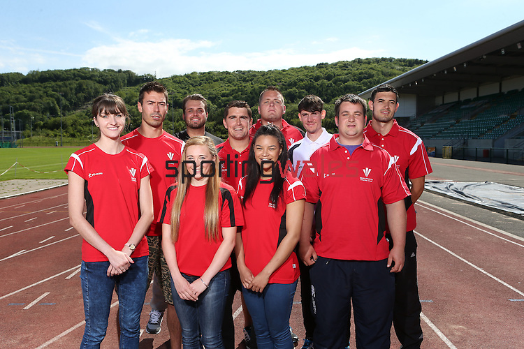 Team Wales athletes<br /> 05.06.14<br /> ©Steve Pope-SPORTINGWALES