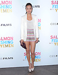 Jamie Chung at CBS Films' U.S. Premiere of SALMON FISHING IN THE YEMEN held at The Directors Guild of America in West Hollywood, California on March 05,2012                                                                               © 2012 Hollywood Press Agency