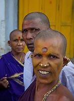Women in Varanasi near the Ganges India