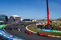 5th September 2021: Circuit Zandvoort, Zandvoort, Netherlands;  16 LECLERC Charles mco, Scuderia Ferrari SF21 during the Formula 1 Heineken Dutch Grand Prix