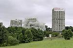 Demolition - Norfolk Park Flats