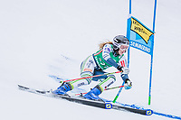 28th December 2020; Semmering, Austria; FIS Womens Giant Slalom World Cu Skiing;  Ana Bucik of Slovenia in action during her 1st run of women Giant Slalom of FIS ski alpine world cup at the Panoramapiste in Semmering