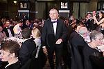 © Joel Goodman - 07973 332324 . 03/03/2016 . Manchester , UK . Winner Team of the Year Litigation (obo Eversheds ) SIMON CHAMBERLAIN (centre) . The Manchester Legal Awards from the Midland Hotel . Photo credit : Joel Goodman