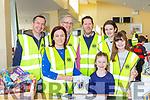 Denis Doolan, Noreen O'Sullivan, John Ivor, Emma Quirke, Ronan, Amy and Isabel Doyle Killarney Lions Club at the Kerry Clubs Fair day in Killarney on Sunday