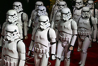 StormTroopers walk the red carpet during the STAR WARS: 'The Force Awakens' EUROPEAN PREMIERE at Odeon, Empire & Vue Cinemas, Leicester Square, England on 16 December 2015. Photo by David Horn / PRiME Media Images