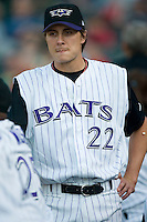 Louisville Bats pitcher Homer Bailey (22) at Louisville Slugger Field in Louisville, KY, Tuesday, June 5, 2007.