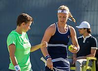 Rosmalen, Netherlands, 11 June, 2019, Tennis, Libema Open, Womans doubles: Kiki Bertens (NED) and Demi Schuurs (NED) (L)<br /> Photo: Henk Koster/tennisimages.com