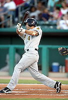 Gary Patchett / Salt Lake Bees in a game against the Tucson Sidewinders in Tucson, AZ - 09/01/2008 ..Photo by:  Bill Mitchell/Four Seam Images