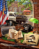 Dona Gelsinger, MASCULIN, MÄNNLICH, MASCULINO, paintings+++++,USGE1435,#m#, EVERYDAY,police,flag