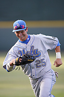 June 5, 2010: Beau Amaral of UCLA during NCAA Regional game against LSU at Jackie Robinson Stadium in Los Angeles,CA.  Photo by Larry Goren/Four Seam Images