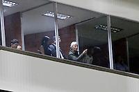 MANIZALES -COLOMBIA, 26-06-2013. Aspecto del encuentro entre Once Caldas y Santa Fe en los cuadrangulares finales F4 de la Liga Postobón 2013-1 jugado en el estadio Palogrande de la ciudad de Manizales./ Aspect of match between Once Caldas and Santa Fe during match of the final quadrangular 4th date of Postobon  League 2013-1 at Palogrande stadium in Manizales city. Photo: VizzorImage/YonboniSTR