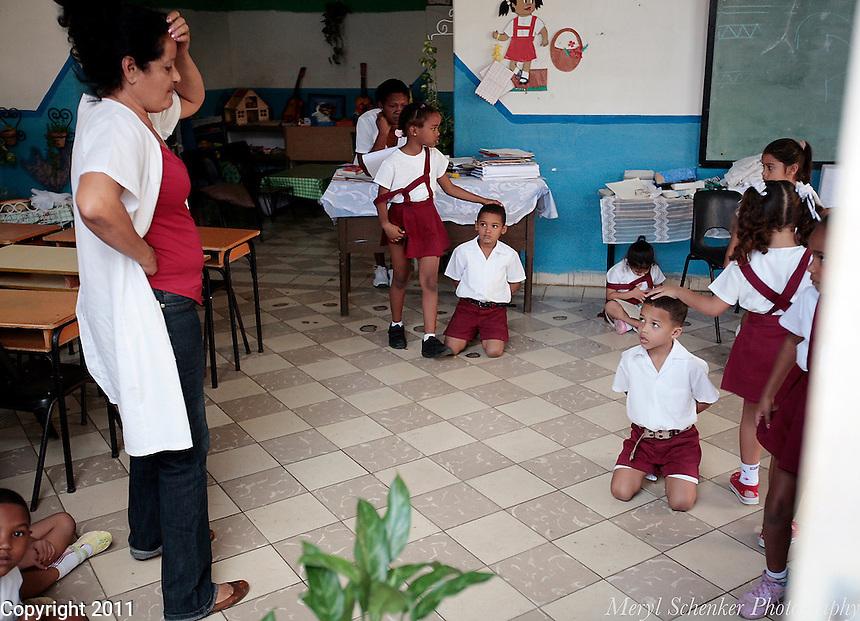 School, Havana, Cuba -Photo by Meryl Schenker