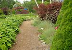 Garden path, Bar Harbor, ME.