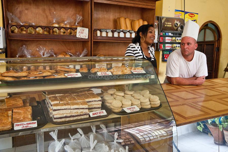 Cuba, Havana.  Pastry Shop, Old Havana.