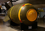 Mark VI nuclear bomb on display at the National Museum of the United States Air Force, Dayton, Ohio, USA
