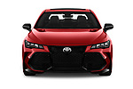 Car photography straight front view of a 2020 Toyota Avalon TRD 4 Door Sedan Front View