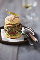Hamburger de Canard - recette de Christian Constant EXCLU: EDITION LIVRE CUISINE DU SUD-OUEST