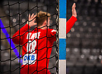 Feature: / Torwart / Till Klimpke (Deutschland #98) ; Tor / EHF EURO-Qualifikation / EM-Qualifikation / Handball-Laenderspiel: Deutschland - Estland am 02.05.2021 in Stuttgart (PORSCHE Arena), Baden-Wuerttemberg, Deutschland.<br /> <br /> Foto © PIX-Sportfotos *** Foto ist honorarpflichtig! *** Auf Anfrage in hoeherer Qualitaet/Aufloesung. Belegexemplar erbeten. Veroeffentlichung ausschliesslich fuer journalistisch-publizistische Zwecke. For editorial use only.