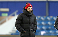 Paul Warne manager of Rotherham United coming off for half time during Queens Park Rangers vs Rotherham United, Sky Bet EFL Championship Football at The Kiyan Prince Foundation Stadium on 24th November 2020