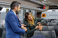 Pictured: Saturday 24 November 2018<br /> Re: Filming of Jungle Cry, a Bollywood Hollywood Production, Cardiff Airport, Wales, UK.