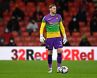 Ex AFC Bournemouth keeper Ryan Allsop of Wycombe Wanderers during AFC Bournemouth vs Wycombe Wanderers, Sky Bet EFL Championship Football at the Vitality Stadium on 15th December 2020
