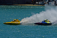 """Frame 12: Andrew Tate, H-300 """"Pennzoil"""", Donny Allen, H-14 """"Legacy 1""""       (H350 Hydro)"""