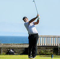 140719 | The 148th Open - Sunday Practice<br /> <br /> Patrick Reid on the 6th tee during practice for the 148th Open Championship at Royal Portrush Golf Club, County Antrim, Northern Ireland. Photo by John Dickson - DICKSONDIGITAL