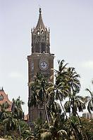 Indien, Bombay (Mumbai), Uhrturm (Clocktower), Kolonialgebäude