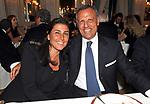 EDUARDO MONTEFUSCO E MOGLIE<br /> PREMIO GUIDO CARLI - SECONDA  EDIZIONE<br /> RICEVIMENTO A CASINA VALADIER  ROMA 2011
