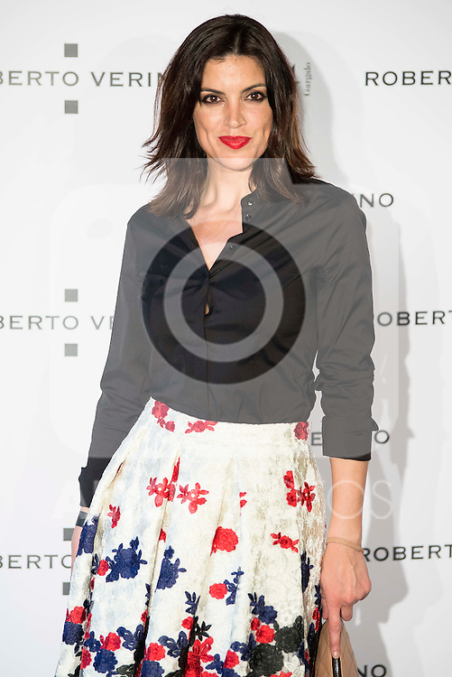 """Guest during the presentation of the new Spring-Summer collection """"Un Balcon al Mar"""" of Roberto Verino at Platea in Madrid. March 16, 2016. (ALTERPHOTOS/Borja B.Hojas)"""