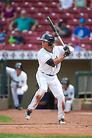 Cedar Rapids Kernels left fielder Christian Cavaness (11) at bat during a game against the Dayton Dragons on July 24, 2016 at Perfect Game Field in Cedar Rapids, Iowa.  Cedar Rapids defeated Dayton 10-6.  (Mike Janes/Four Seam Images)