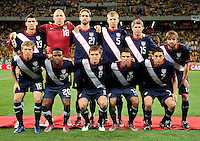 USA team Line up during the  Soccer match between South Africa and USA played at the Greenpoint in Cape Town South Africa on 17 November 2010.  Photo: Gerhard Steenkamp/ISI Photo
