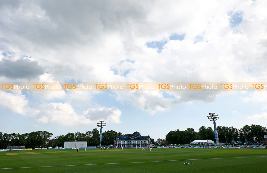 General view of the St Lawrence Ground during Kent CCC vs Northamptonshire CCC, LV Insurance County Championship Group 3 Cricket at The Spitfire Ground on 5th June 2021