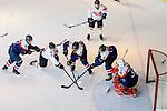 HMY Sportswear vs Kung Pow Kings during the Mega Ice Hockey 5s match on May 02, 2018 in Hong Kong, Hong Kong. Photo by Marcio Rodrigo Machado / Power Sport Images